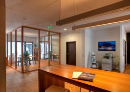 Bürobereich im Erdgeschoss